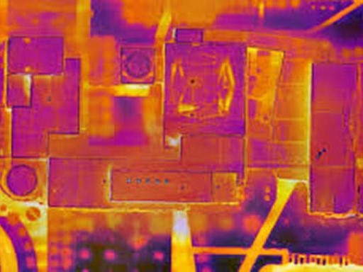 Drone thermal images